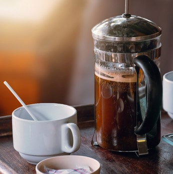 Cafetera de pistón